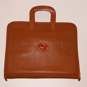 Dooney & Bourke vintage leather planner